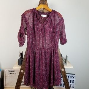 Urban Outfitters Staring At Stars Floral Dress